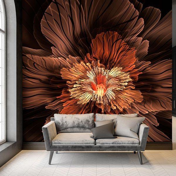 Fotomural flor 3D