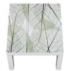 Vinilo hojas verdes