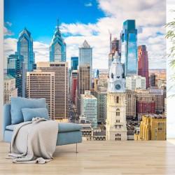 Fotomural ciudad de Filadelfia
