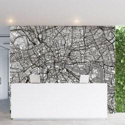 Fotomural mapa de Londres