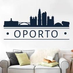 Vinilo skyline Oporto