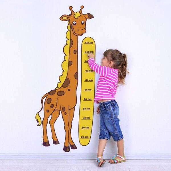 Medidor infantil jirafa