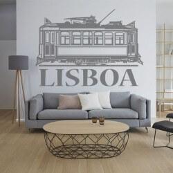 Vinilo decorativo de Lisboa