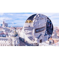 Fotomural Madrid desde el cielo