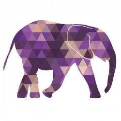 Vinilo de animales elefante 2