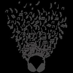 Vinilo decorativo música
