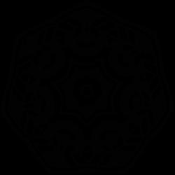 Adhesivo mandala vitral