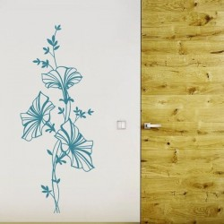 Vinilo flor petunia