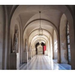 Fotomural de pasillo iglesia