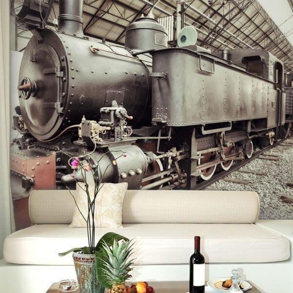 Fotomural tren antiguo 2
