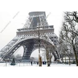 Fotomural Torre Eiffel de blanco