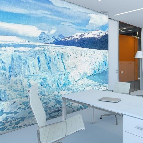 Mural en vinilo Antártida