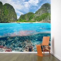 Mural decorativo isla