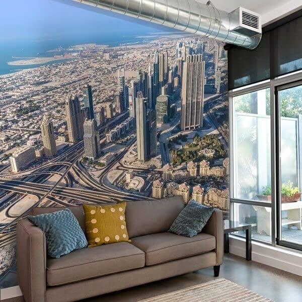 Fotomural ciudad de Dubái