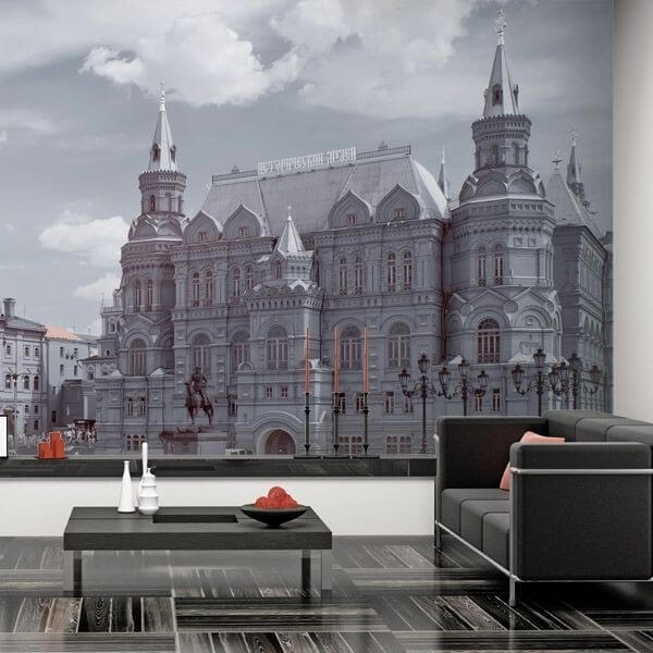 Mural de pared Moscow
