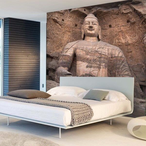 Mural decorativo buddha