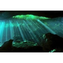 Fotomural luz sobre agua