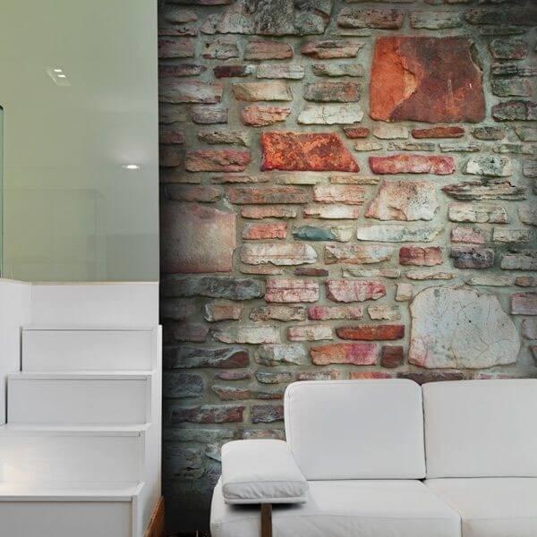 Fotomural pared de piedra 1