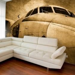 Mural decorativo avión boeing