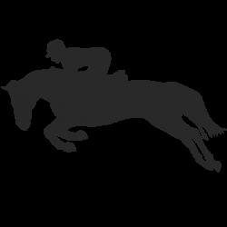 Vinilo caballos de carrera