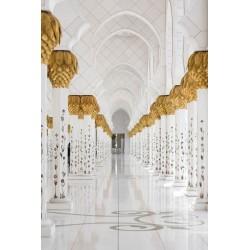 Fotomural pasillo de mezquita