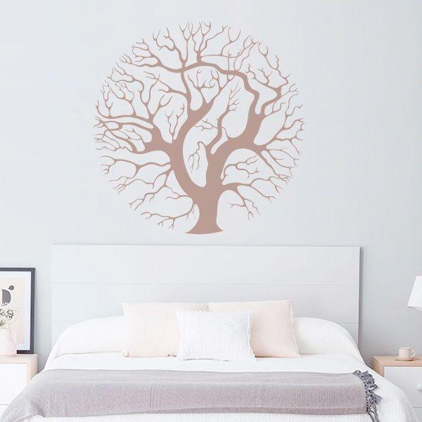 Vinilo árbol circulo