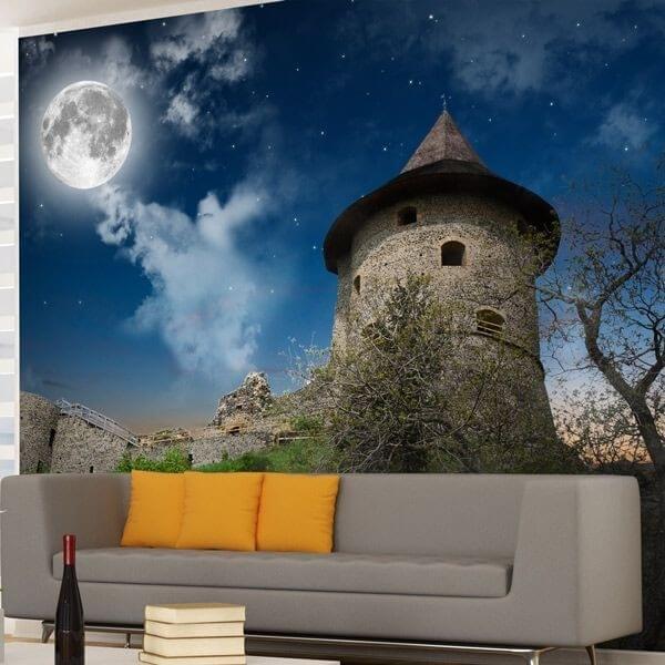Mural decorativo castillo 1