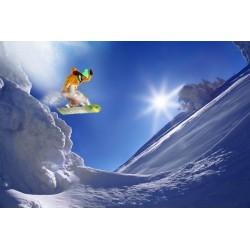 Fotomural snowboard 2