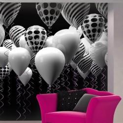 Mural decorativo globos 2