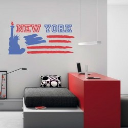 Vinilo decorativo New York 2