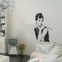 Vinilo decorativo Audrey...