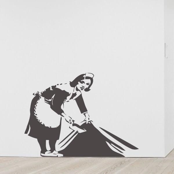 Vinilo Banksy maid