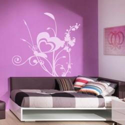 Adhesivo de pared mariposa 5