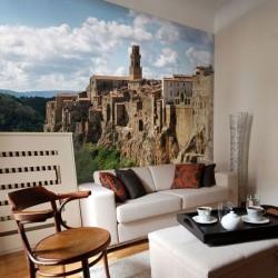Fotomural Pitigliano Italia