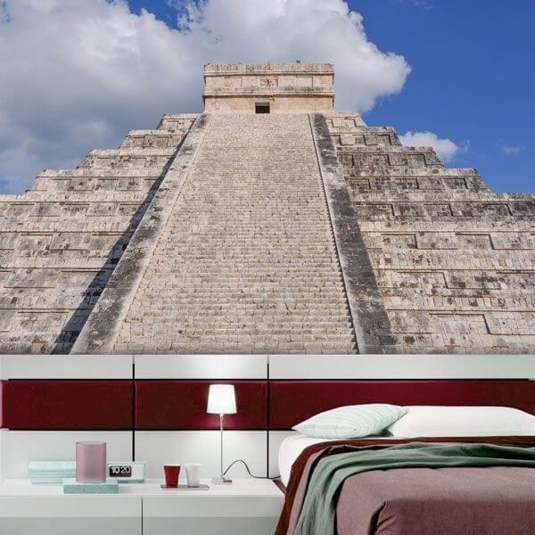Mural en vinilo pirámide
