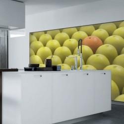 Fotomural naranja y limones