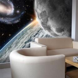Mural decorativo el espacio 1