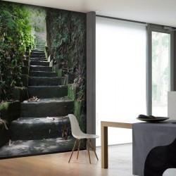 Fotomural escaleras
