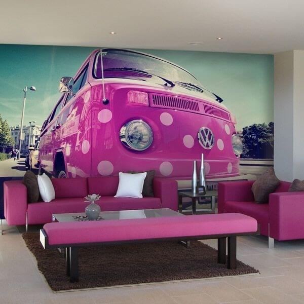 Mural en vinilo Volkswagen