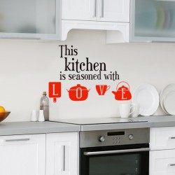 Vinilo this kitchen, Love