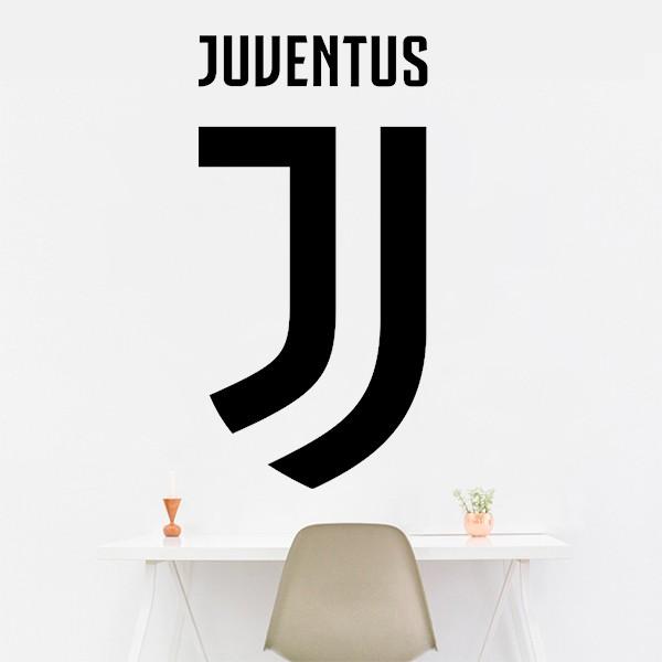Vinilo escudo de la Juventus