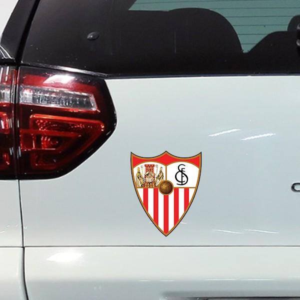 Pegatina del escudo Sevilla fc
