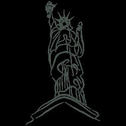 Vinilo Estatua de la Libertad