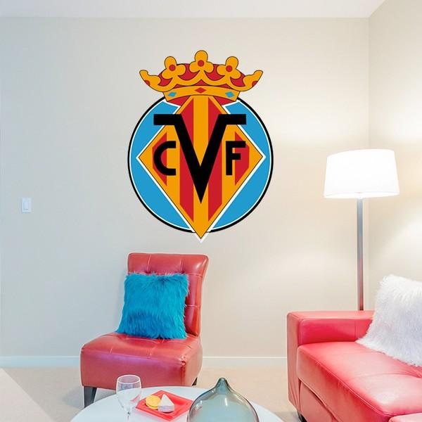 Vinilo escudo del Villarreal