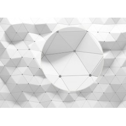 Fotomural triángulos 3D
