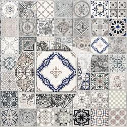 Vinilo mesa azulejos vintage