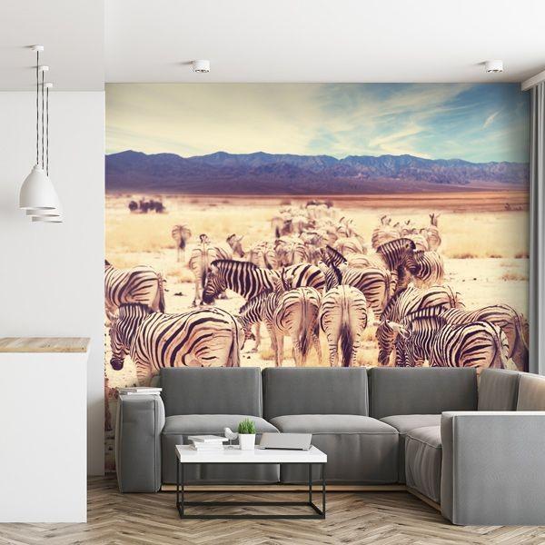 Fotomural cebras vintage
