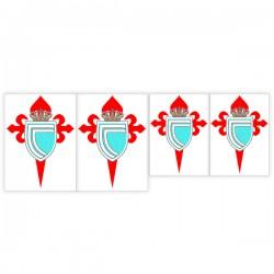 Pegatina escudo celta de vigo