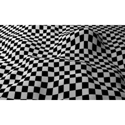 Mural de pared cuadrados 3D