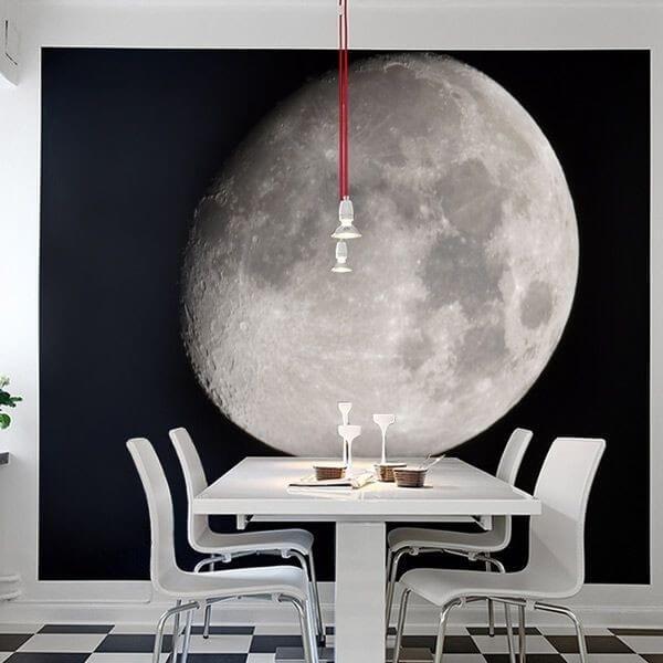 Fotomural luna